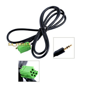 Aux-In-Input-Audio-Radio-Adapter-Cable-3-5mm-Jack-MP3-for-Renault-Clio-Megane