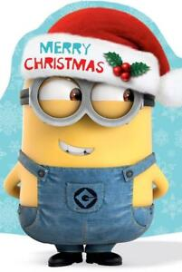 584c36c659dab Image is loading DESPICABLE-ME-MERRY-CHRISTMAS-CARD-NEW-GIFT-MINIONS