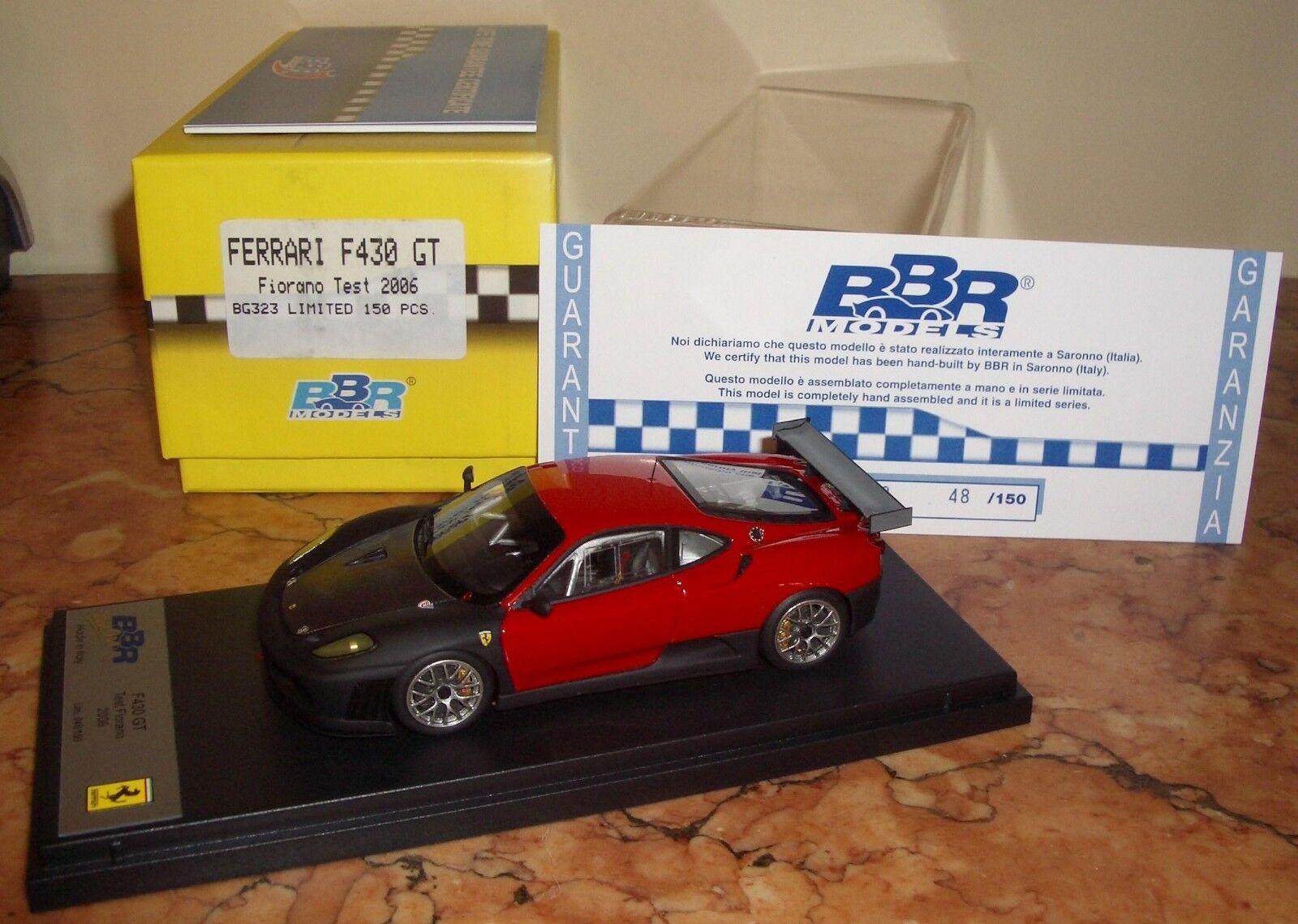 1 43 BBR Ferrari f430 GT Fiorano Test 2006 Ltd. of 150 pcs. MIB V. Rare N ABC