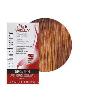 Image Is Loading Wella Color Charm Permament Liquid Hair 42ml
