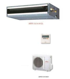 Climatizzatore condizionatore fujitsu canalizzabile inverter 18000 btu aryg18ll ebay - Adattatore finestra condizionatore portatile ...