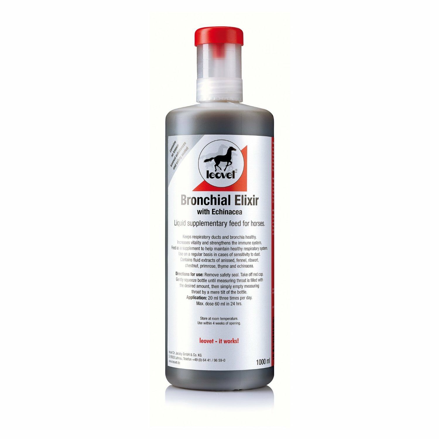 LEOVET BRONCHIAL ELIXIER ELIXIER BRONCHIAL 2500ml, 1L = 19,16 EUR 79ded2