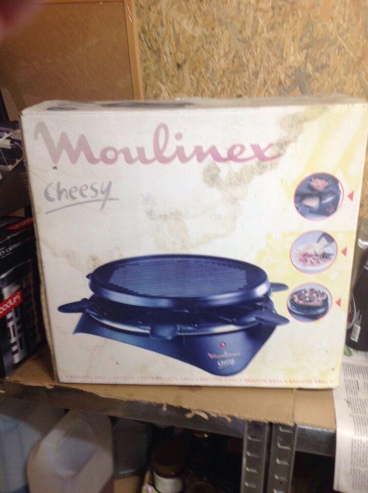 Andet, andet mærke Moulinex raclette grill