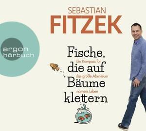 SEBASTIAN-FITZEK-FISCHE-DIE-AUF-BAUME-KLETTERN-4-CD-NEW