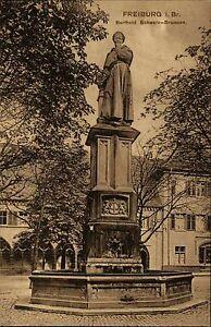 Freiburg-im-Breisgau-Baden-Wuerttemberg-1910-Berthold-Schwarz-Brunnen-Statue