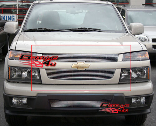 Fits 04-11 2011 Chevy Colorado Main Upper Billet Grille Insert