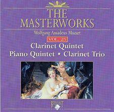 The Masterworks Vol. 25-Mozart Clarinet Quintet,Piano Quintet,Clarinet Trio CD