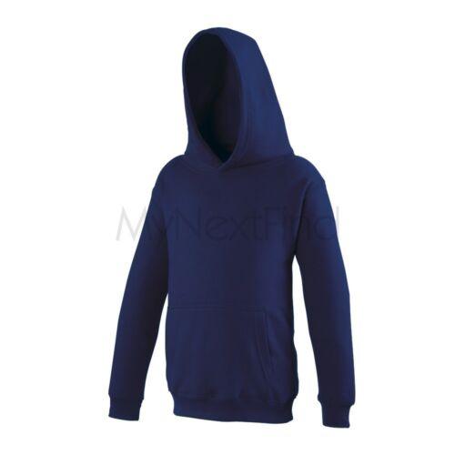 AWDis Just Hoods Boys Girls Kids Hoodie Hooded Jumper