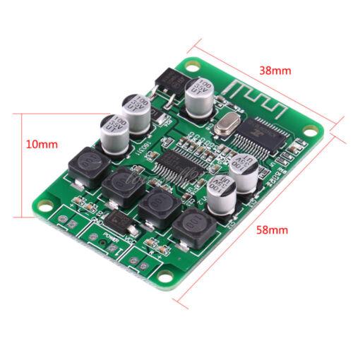 1PCS TPA3110 Dual 2X15W//30W Bluetooth Audio Power Amplifier Board for Speaker