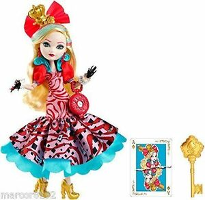 Ever-after-high-Way-too-Wonderland-Apple-White-Doll-Daughter-of-Snow-White-New