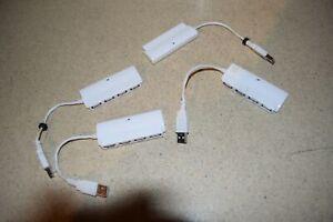 ^^ ATIVA USB 4 PORT HUB P/N HU4246 - LOT OF 4