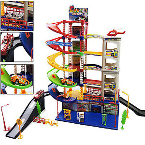 Modern 6 level kids garage auto car parking children xmas for Garage sn autos 42