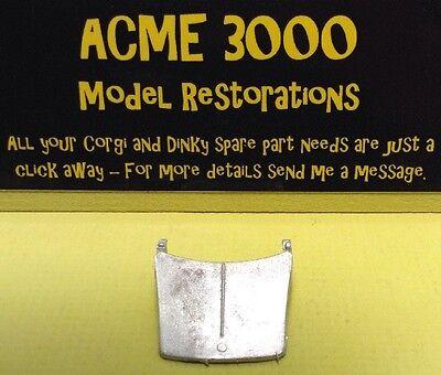 Chrome Plastic Rear Bumper 262 Morris 1100 Reproduction Repro Spot On 272