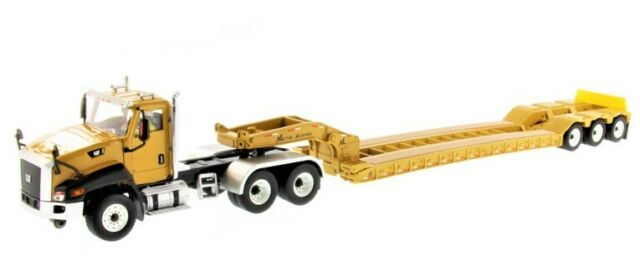 DM Caterpillar CT660 Day Cab w/XL 120 Low-Profile HDG Lowboy Trailer CAT 1/50 MB