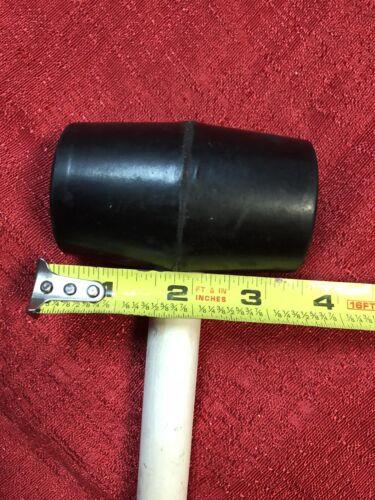 "8 oz Rubber Mallet Hammer Hard Wood Handle 11/"" Long"