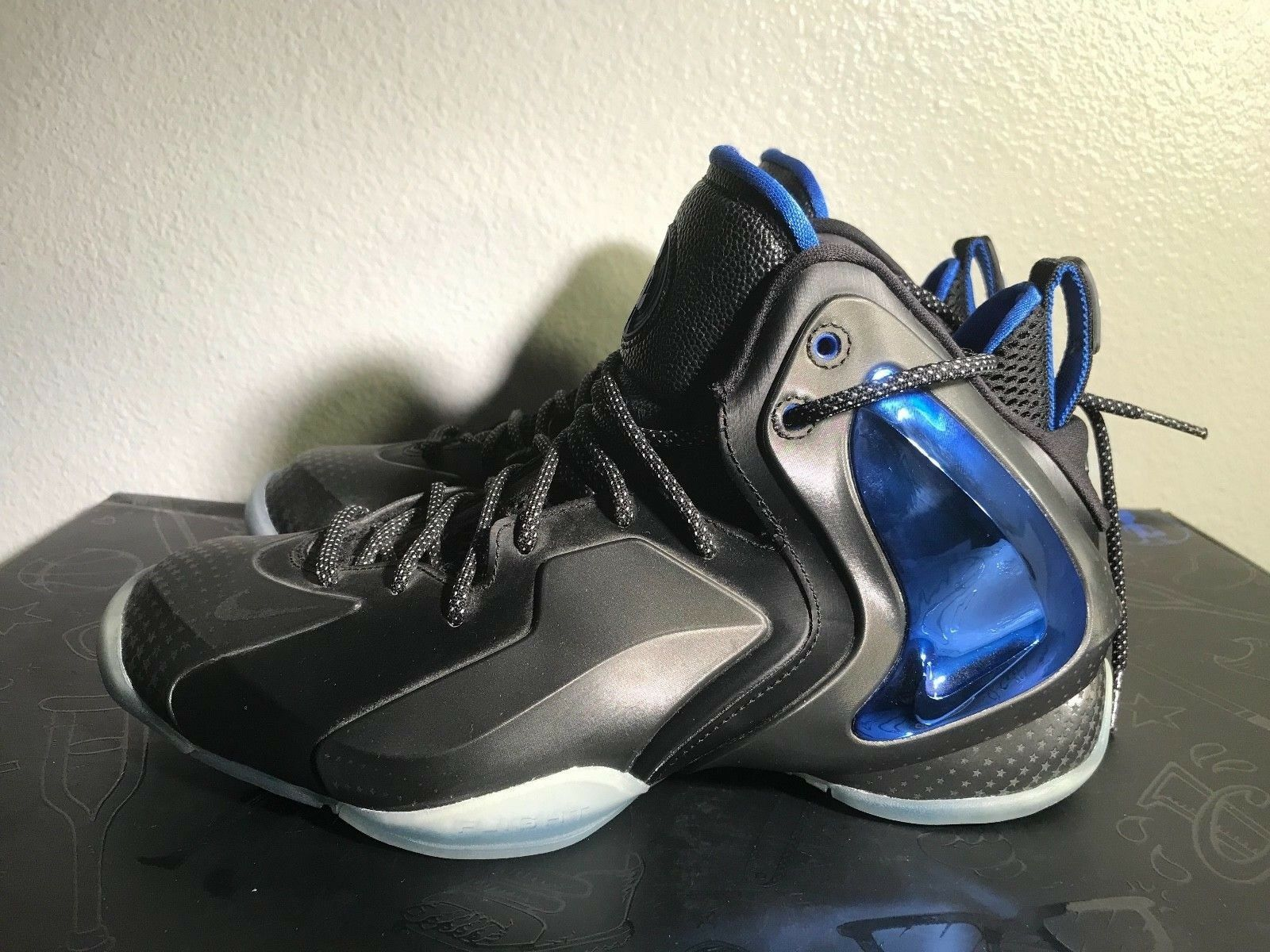 Nike Shooting Stars Pack 679766900 The Lil Penny Posite SZ 9 Deadstock Authentic