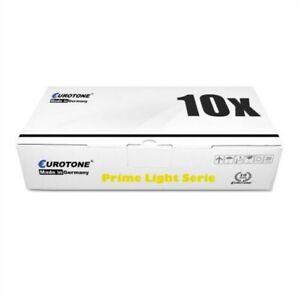 10x Eurotone Prime Cartridge / Chip For Kyocera FS 9130 DN/D FS 9130 DN FS 9530