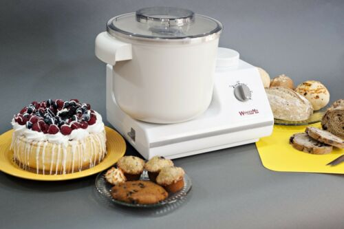 WonderMix Deluxe 5.5 QT 900w Kitchen Stand Mixer With Blender /& Cookie Whips