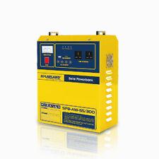 Modified Sine Wave 300W 120V AC Inverter + Solar Charge Controller USB 12V DC