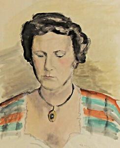 Fritz-WIMMER-1879-1960-Frauenportrait