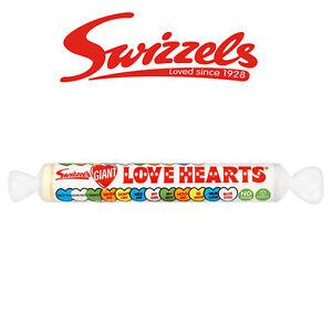 Swizzels Géant Love Cœurs Rétro Bonbons Pâques Cadeau Enfants Traite-afficher Le Titre D'origine MatéRiaux De Qualité SupéRieure