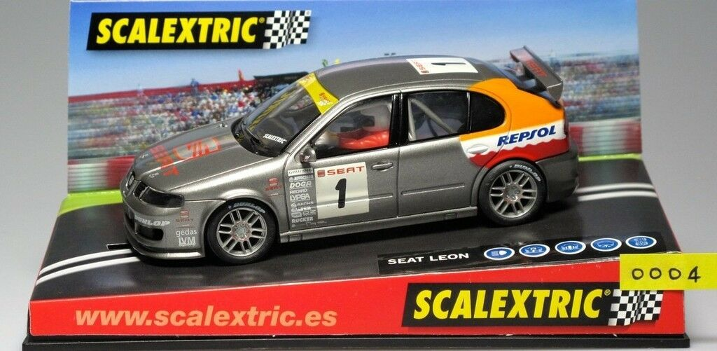 SCX 6093 SEAT LEON CUP 2002 Scalextric (Tecnitoys) New New 1 32
