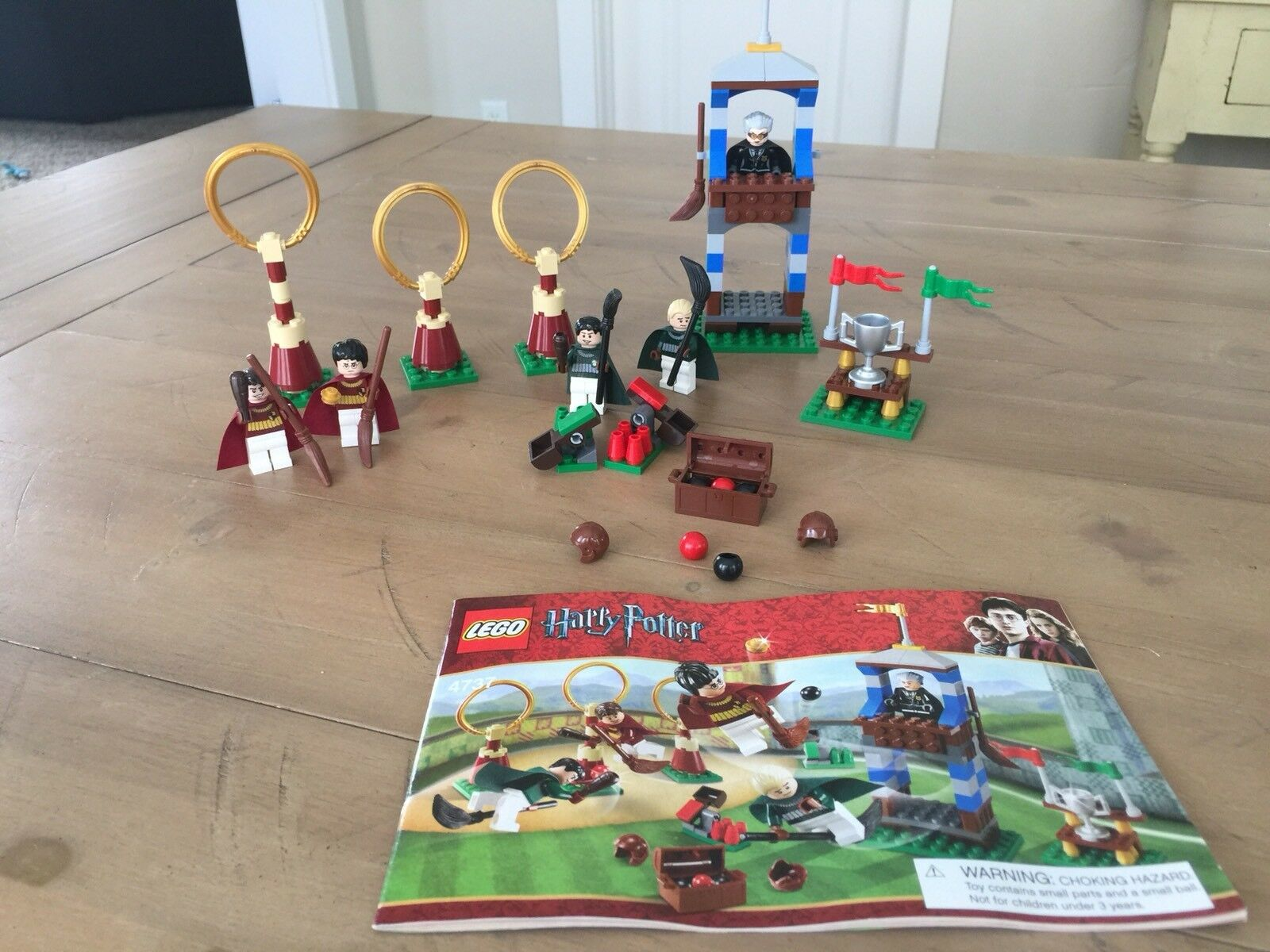 LEGO Harry Potter - Rare - Quidditch Match 4737 - Complete w/ Instructions