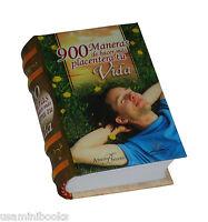 900 Maneras De Hacer Más Placentera Tu Vida Small Book Coleccionable Pasta Dura