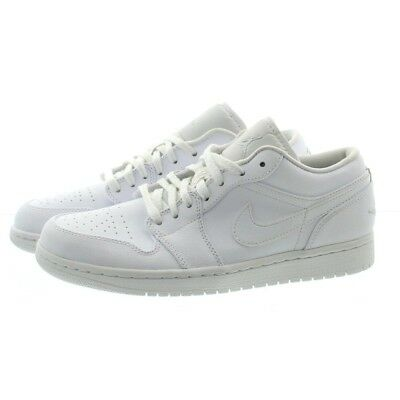 Nike 553558 Mens Air Jordan Retro Low Top Basketball Tennis Shoe Sneakers White