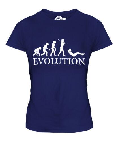 signore Evoluzione Donna T-Shirt Tee Top Regalo esercizio bar SIT UP