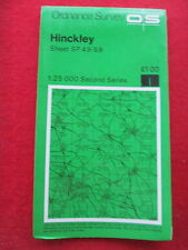 Ordnance Survey 1:25000 Second Series map  SP 49/59  Hinkley