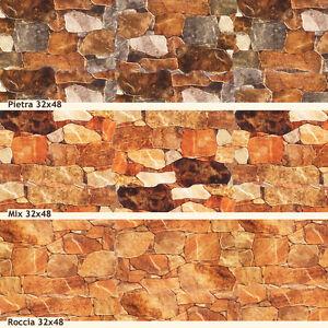 Piastrelle gres rivestimento parete effetto pietra naturale muretto decorazione ebay - Carta adesiva rivestimento mobili ...