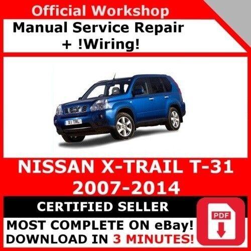 Cablaggio # fabbrica officina servizio riparazione manuale per NISSAN X-TRAIL 2007-2014