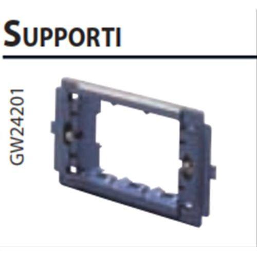 CLASSIC VIRNA GW24201 GEWISS SUPPORTO 3 POSTI PLACCHE TOP SYSTEM