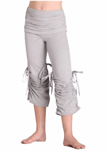 Plume Cotton Stretch Dance Trousers GREY All Sizes P967X BNWT