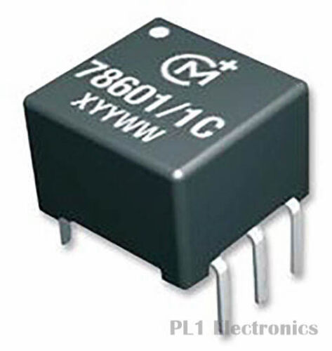 MURATA POWER SOLUTIONS    78615//2C    Pulse Transformer PCB 500 µH 1CT:1CT