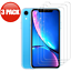 For-iPhone-11-Pro-Max-XR-X-XS-Max-8-7-6-Tempered-GLASS-Screen-Protector-3-PACK thumbnail 5