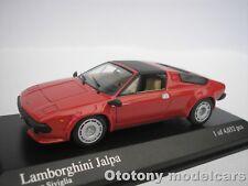 LAMBORGHINI JALPA 1981 ROT 1/43 MINICHAMPS 400103600  NEU