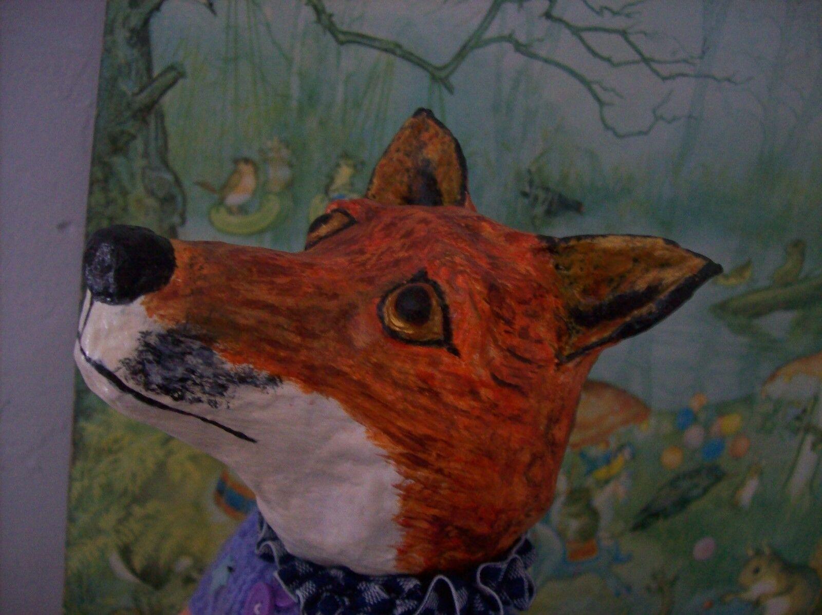Fox  - OOAK artists fox. Frotdie the fox.