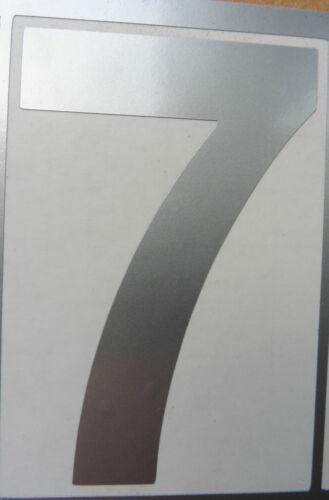 PEEL N STICK House office Door Bin Numbers vinyl stickers weather proof 80mm