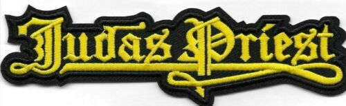 Judas Priest band logo Embroidered Patch Iron-On Sew-On fast US shipping