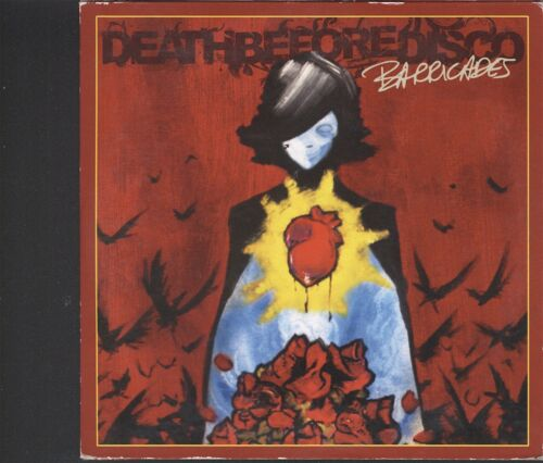 1 of 1 - Death Before Disco - Barricades promo CD (card sleeve type)