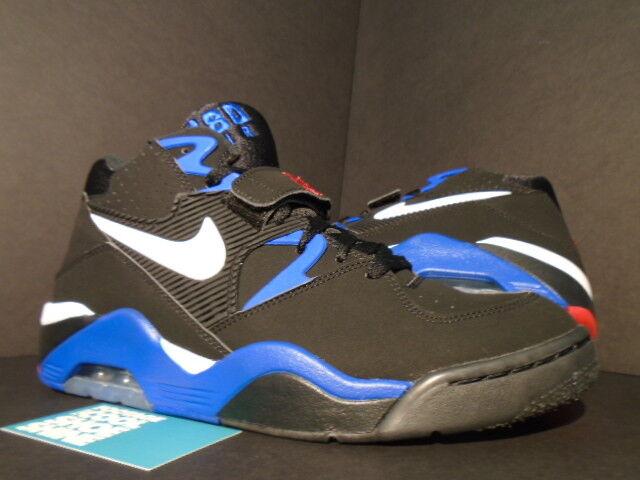 2013 Nike Air Force 180 CHARLES BARKLEY ROYAL CB 1 BLACK WHITE ROYAL BARKLEY BLUE RED USA 10 5a408c