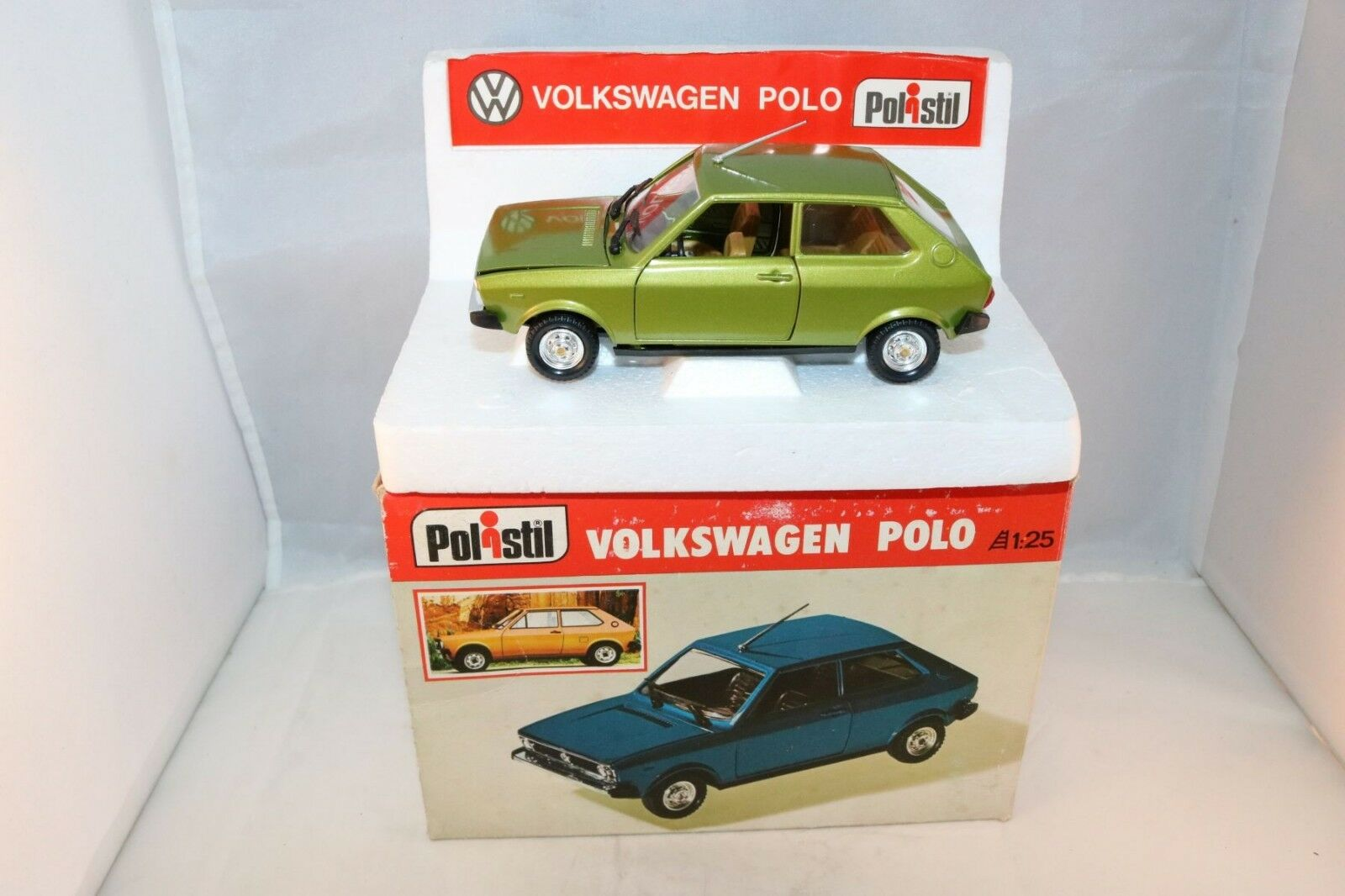 Polistil S25 S.25 Volkswagen Polo 99.9%  mint in box 1 25 selten Superb