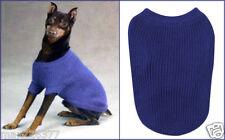 New Dog Sweater Clothes Clothing Shaker Knit Zack & Zoey blue XXLARGE XXL