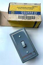 Square D 55393 Motor Starting Switch Class 2510 Type Fg 1 1 Pole Nema 1 New