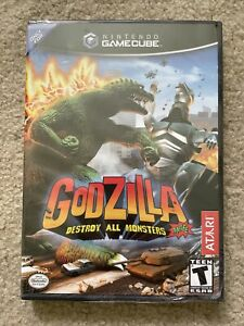 Sealed Gamecube Godzilla Destroy All Monsters Melee