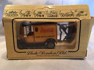 Vintage-1983-Lledo-Models-of-Days-Gone-Ford-Delivery-Coca-Cola-Coke-Truck-NIB
