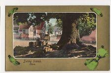 Surrey Scenes, Shere Postcard, A696a