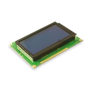 128X64-Graphic-LCD-White-on-Blue-12864-KS0107-LCM